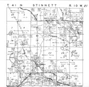 Stinnett Township, Stanberry, Washburn County 1952
